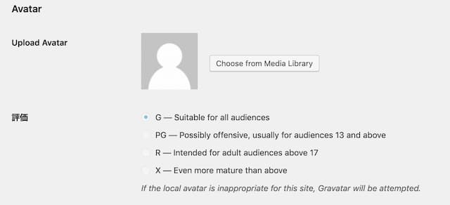 WordPress Profile Image