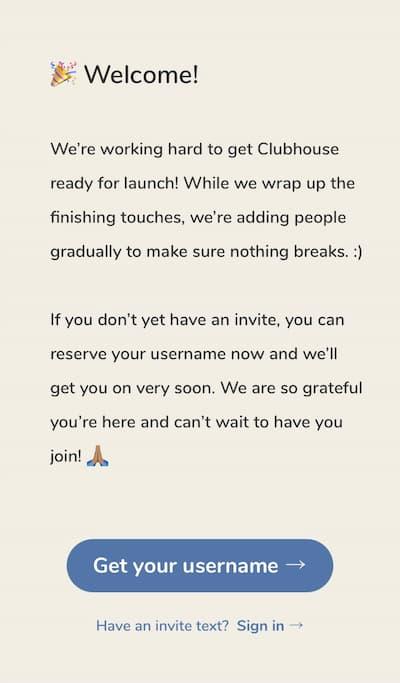 音声 SNS アプリ「Clubhouse」の登録方法や招待コード