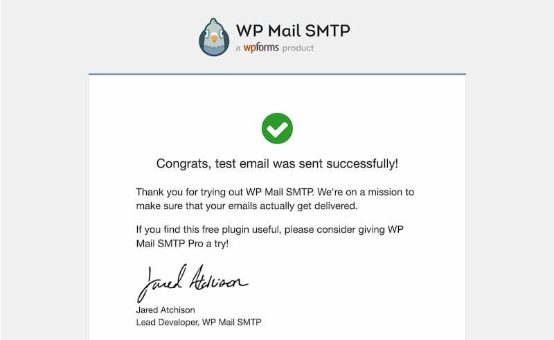 WP Mail SMTP の設定手順